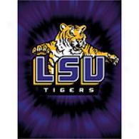 Louisiana State University 60in X 80in Throw