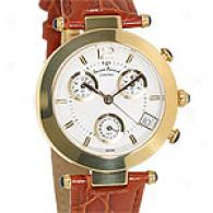 Lucien Piccard Gold Plated Chronograph