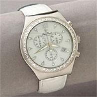 Lucien Piccard Swarovski Crystal Bezel Watch