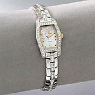 Lucien Piccard Womenq Swarovski Crystal Watch