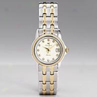 Lucien Piccard Women's Two-tone & Diamond Watch