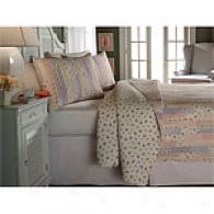 Luella Pastel Floral Cotton Quilt Set