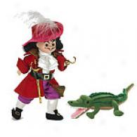 Madame Alexander Captain Hook Collectible Doll