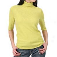Magaschoni 100% Cashmere Bow Slerve Sweater