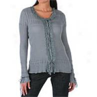 Magaschoni Long Sleeve Button Front Cardigan