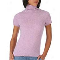 Magaschoni Thistle Cashmere Cap Sleeve Tee