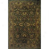 Mandalay Collection Ignorance Green Rug
