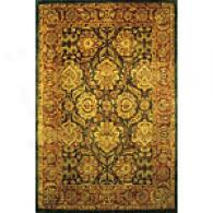 Mandalay Collection Green Rug