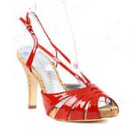 Martinez Valero Framke Patent Leather Sandals