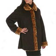 Marvin Richards Reversible Faux Shearling Coat