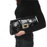 Maxx New York Del Posto Croc Open Clutch