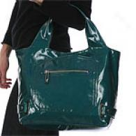 Maxx New York Moonte Carlo Patent Shopper Tote