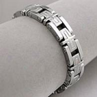 Men's Venetian Lin kStainless Steel Bracelet