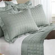 Metro Collection 300tcQ uilted Sateen Coverlet Set