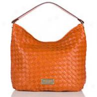 Michael Kors Newbury Woven Shoulder Bag