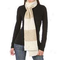 Michael Kors Rugby Lufex Stripe Scarf