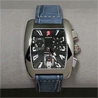 Michele Urban Steel Chronograph Watch
