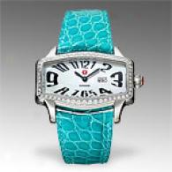 Michele Womens Coquette Retro Diamond Watch