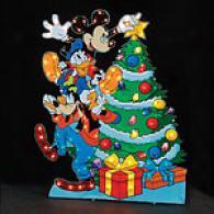 Mickey And Friends Yard Art