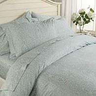 Mirabello Palace Paisley Egyptian Cotton Duvet Set