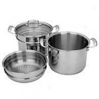 Miu France 40c 8-quart Pasta Cooker Stainless