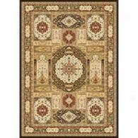 Monarchy Brown Traditional Rug