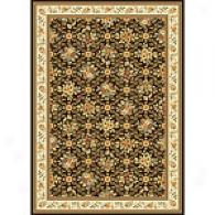 Monarchy Ivory & Brown Orally transmitted Rug
