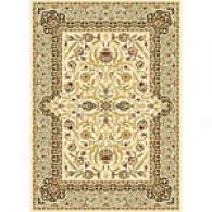 Monarchy Ivory & Green Traditional Rug