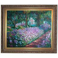 Monet Artists Garden At Giverny Oil Painting