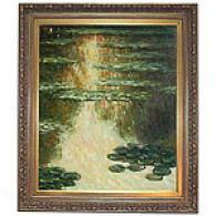 Monet Water Lilies Oil On Canvas