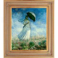 Monet Woman With A Parasol (facing Right)
