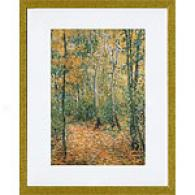 Monet Wood Lane Framed Print