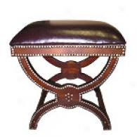 Moroccan Handcrafted Wood Bench