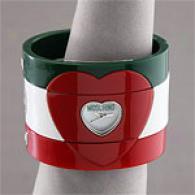 Moschino I Love Three Italian Flag Wtch