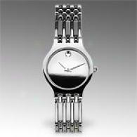 Movado Esperanza Stainless Steel Mini Watch