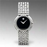 Movado Trembrili Womens Watch With Diamonds