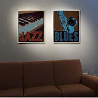 Music Set Of 2 Outdoor Canvas Prints