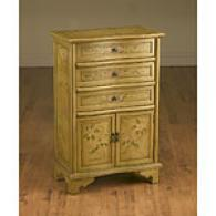 Mustard Yellow Cabinet Chest