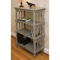 Natures Wonder Grey Wood Bookcase