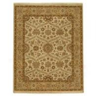 Neer Gold Hand Knotted Wool Rug