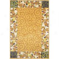 New Wave Collection Cinnamon Rug