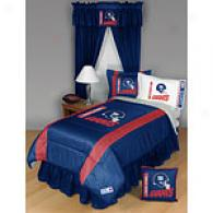 New York Giants Comforter & Sheet Set