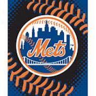 New York Mets 60in X 80in Baseball Throw