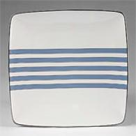 Noritake Aegean Sky 4 Square Large Accent Plates