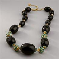 O By Oscar De La Renta Midnight Stone Necklace