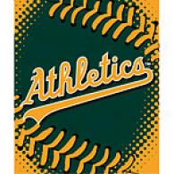 Oakland Athletics 60in X 80in Basebal lThrow