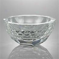 Oleg Cassini Jacki 7in Crystal Bowl