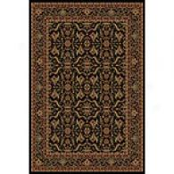 Orian Shakespeare Collection Harold Onyx Rug