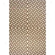 Orleans Brown Hand-woven Wool Rug