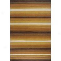 Orleans Multicolored Stripe Hand Woven Wool Rug